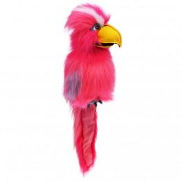 Pink Galah hand Puppet - Large Bird