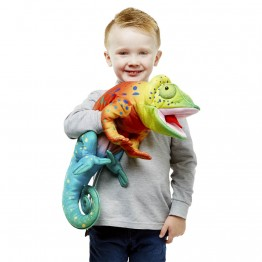 Large Creatures - Chameleon Hand Puppet
