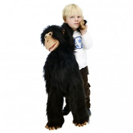 Large Primate Chimp Hand Puppet
