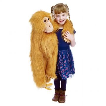 Large Primate Orangutan Hand Puppet