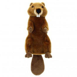 Beaver Hand Puppet - Long Sleeved