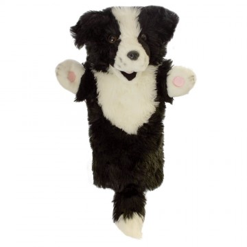 Border Collie Long Sleeved Puppet