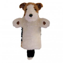 Fox Terrier Long Sleeved Glove Puppet