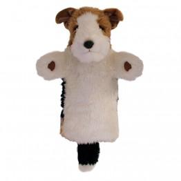 Fox Terrier Long Sleeved Glove Puppet