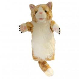 Ginger Cat Long Sleeved Puppet