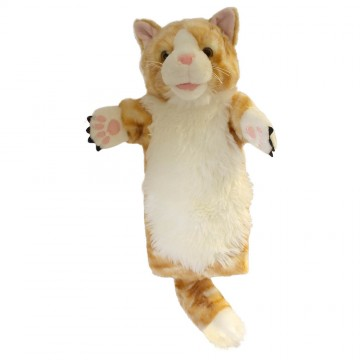 Ginger Cat Long Sleeved Puppet
