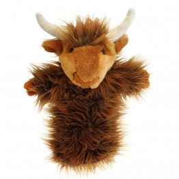 Highland Cow Long Sleeved Puppet