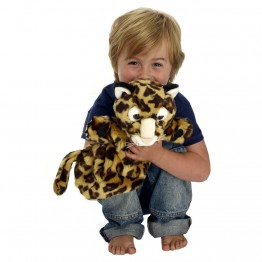 Leopard Long Sleeved Puppet