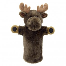 Moose Hand Puppet - Long Sleeved