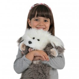 Old English Sheepdog Long Sleeved Glove Puppet