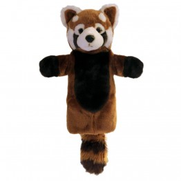 Red Panda Long Sleeved Glove Puppet
