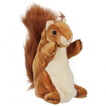 Red Squirrel Long Sleeved Glove Puppet