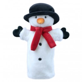 Snowman Long Sleeved Puppet
