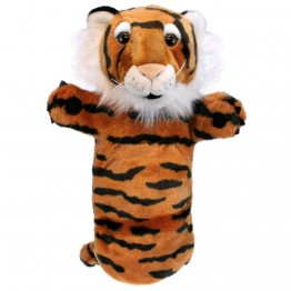 Tiger Long Sleeved Glove Puppet