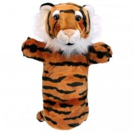 Tiger Long Sleeved Glove Puppet