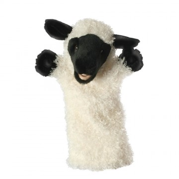 White Sheep Long Sleeved Glove Puppet