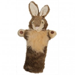 Wild Rabbit Long Sleeved Glove Puppet