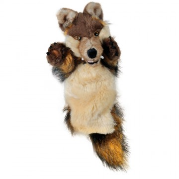 Wolf Long Sleeved Puppet