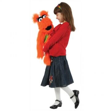 Orange Monster Hand Puppet