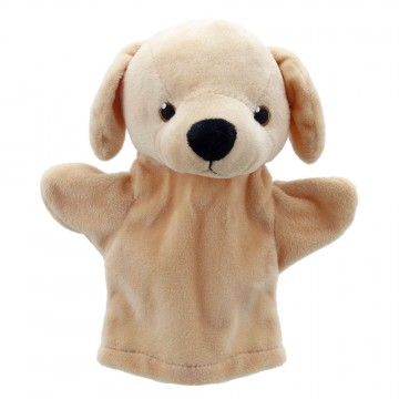 My First Labrador (Yellow) Hand Puppet