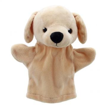 My First Labrador (Yellow) Hand Puppet