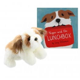 Nipper and the Lunchbox Book with Full Bodied Dog Puppet