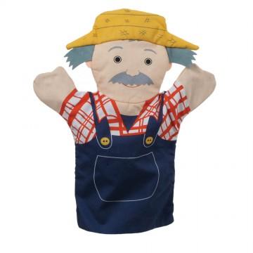 Flat Glove Puppet Farmer