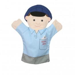 Flat Glove Puppet Postman