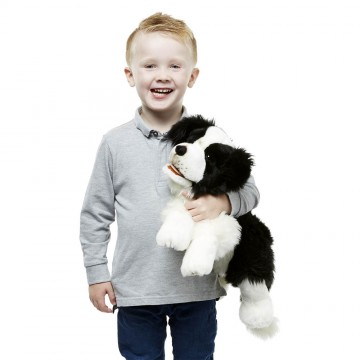Border Collie Puppet - Playful Puppy