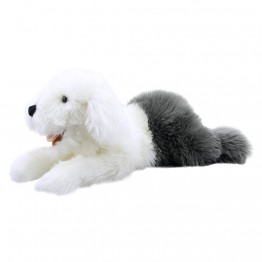 Old English Sheepdog Puppet - Playful Puppy