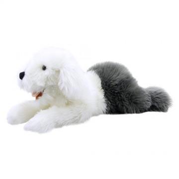 Old English Sheepdog Puppet - Playful Puppy