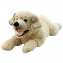 Yellow Labrador Puppet - Playful Puppy