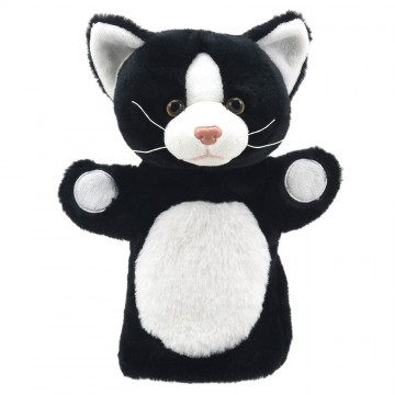 Cat (Black and White) - Puppet Buddies - Animals