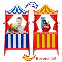 Reversible Floor Standing Puppet Theatre
