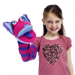 Kitty sockette glove puppet