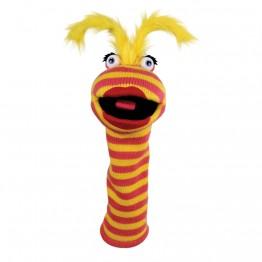 Lipstick Sockette Glove Puppet