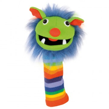 Rainbow Sockette Glove Puppet