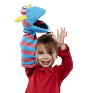 Scorch Sockette Glove Puppet