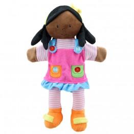 Girl (Dark Skin Tone) - Story Telling Puppets