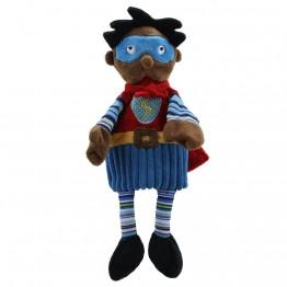 Super Hero (Dark Skin) - Story Telling Puppets