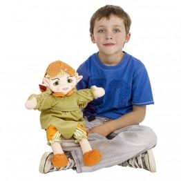 Woodland Elf Girl Hand Puppet
