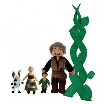 Jack & the Beanstalk Story Finger Puppet Set