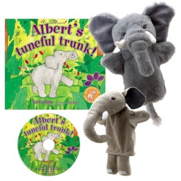 Albert's Tuneful Trunk Story Telling Set