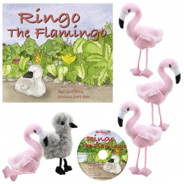 Ringo the Flamingo Story Telling Set