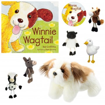 Winnie Wagtail Story Telling Set