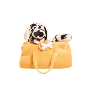 Dog in a bag - Mr. Schulze