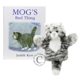Mog's Bad Thing Book and Puppet set