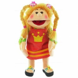 Hand Puppet Girl Jenny (Medium)