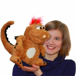 Olli The Baby Dragon Hand Puppet