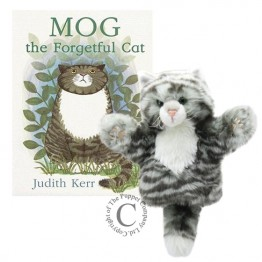 Mog the forgetful Cat Book and Puppet set
